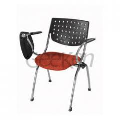 Student Chair With Adjustable Writing Pad
