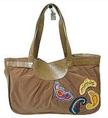 Patchwork Canvas Bags