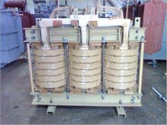 Transformer active part