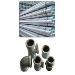 G. I. Pipe & Fittings