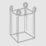 FIBC's 4 Loop Standard Bag