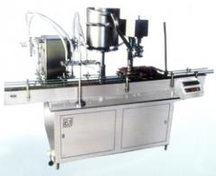 Automatic Bottle Filling, Capping