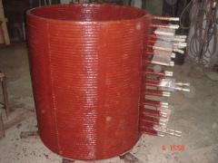 Copper Coils for Crucibles