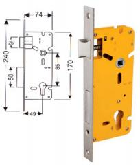 Euro Profile Mortise Lock- 9 Inchens (All Sizes in