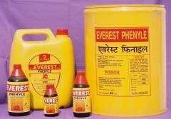 Black Disinfectant Fluid