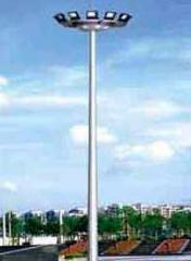 Round High Mast Poles