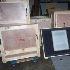 Wooden Glassware Crates