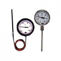 Mercury In Steel Type Thermometer