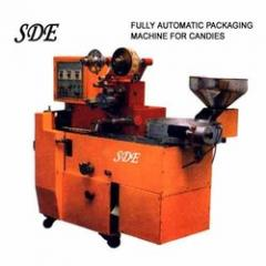 Packaging machine for candies