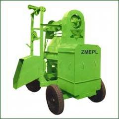 Concrete Mixture Machine With Mobile Two Leg Hoist