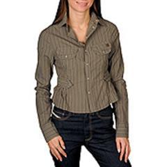 Brown Woman Shirt