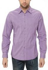 Men Shirt Violet