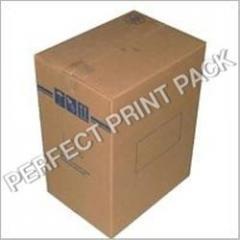 Printed shipping carton