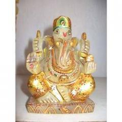 Crystal Ganesha In White Colour