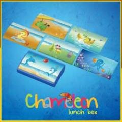 Chameleon lunch box