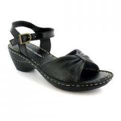 Black Sheep Napa Stitch Down Sandals