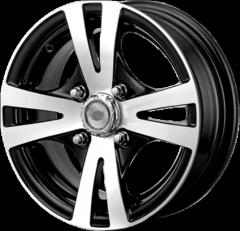 Velocity alloy wheel