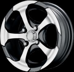Hammer alloy wheel
