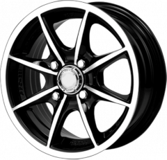 Sleek alloy wheel