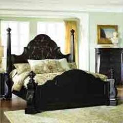 Black Colour Beds