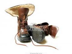 Shrinken Leather Shoes