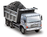 Mining & quarrying products tipper