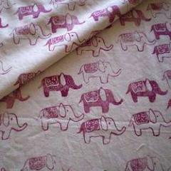 Rubber Print Fabric