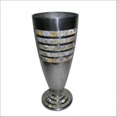 Aluminum Round Vase