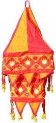 Lampshades Multicolored Applique Embroidered