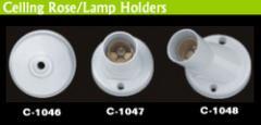 Ceiling Rose / Lamp Holders