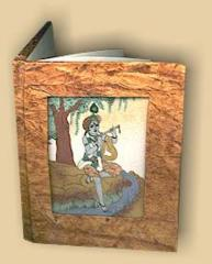Gemstone handmade paper diaries