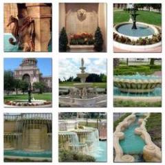 GFRC Fountains