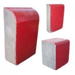 Red Curb Stones