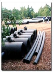 HDPE/MDPE/PP pipes