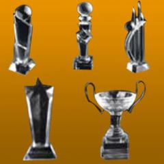 Crystal Awards or Trophy