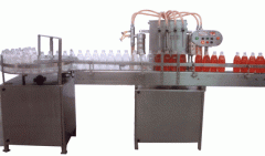 Automatic 4 Head Liquid Filling Machine