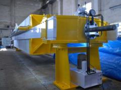 Semi Automatic Recessed Filter Press Machine