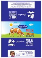Rainbow Milk Fresh Biscuits