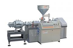 Twin Screw Pipe & Profile Production Line