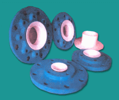 PTFE lined reducing flanges