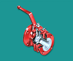 FEP/PFA Lined Ball valve