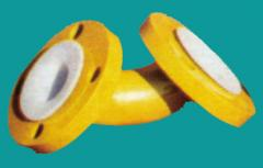 PTFE/FEP lined elbows