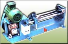 Motorised wire elongation machine