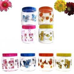 Printed Pet Plastic Jars & Plastic Bottles