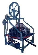 Vertical Wire Braiding Machine