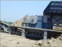 Semi Mobile Crushing Plant