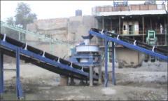 VSI (Vertical Shaft Impactor)  Sand Plant