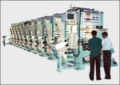 Rotogravure Printing Machine Graphics Standard