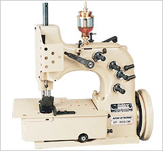 Double Locked Chain Stitch Sewing Machine
