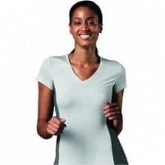 Ladies V Neck T- Shirts